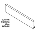 Ampetronic BPL-1U Blanking Plate for Above Tray 1/2""