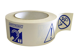 Ampetronic PWT Adhesive Installation/Warning Tape 50m Reel