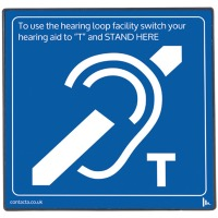 Contacta IL-AE97 Loop Sign with Built-In Aerial