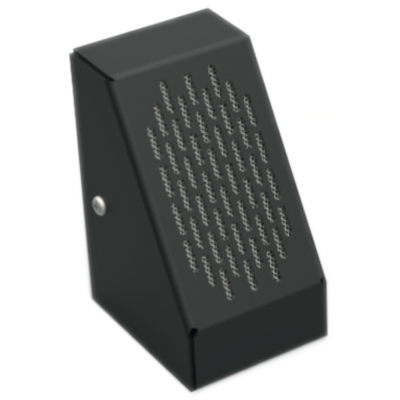 Contacta STS-M54-B Surface Mount Microphone - (Black)