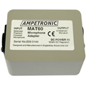 Ampetronic MAT60 Balanced to Unbalanced Microphone Adaptor