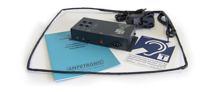 Ampetronic CLD1AC-CX Compact Loop Driver with Loop Coil