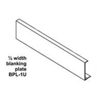 Ampetronic RBP01L Blanking Plate for Above Tray 1/2