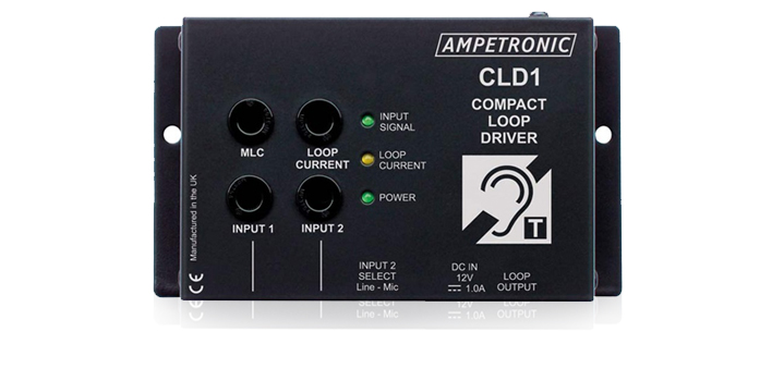 Ampetronic CLD1 Compact Small Area & Counter Induction Loop Driver